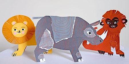 Zoo Collage Workshop