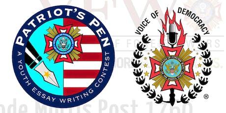 Voice of Democracy and Patriots Pen Awards Banquet tickets
