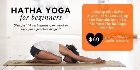Hatha Yoga for Beginners tickets