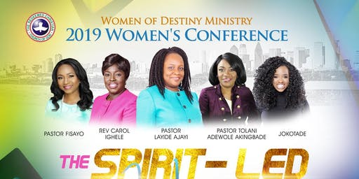 Women of Destiny Ministry 2019 Conference