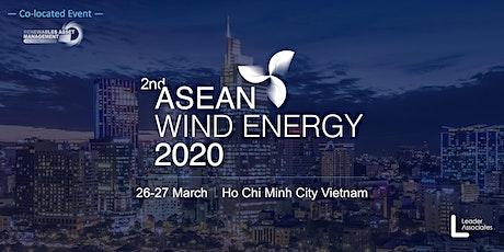 2nd ASEAN Wind Energy 2020 tickets