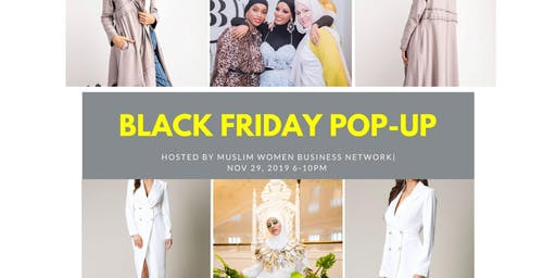 Muslim Women Business Network Black Friday Pop-Up