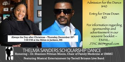 JTAC Thelma Sanders Scholarship Dance - REVAMPED
