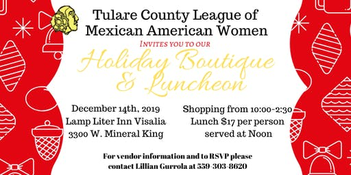Holiday Boutique & Luncheon