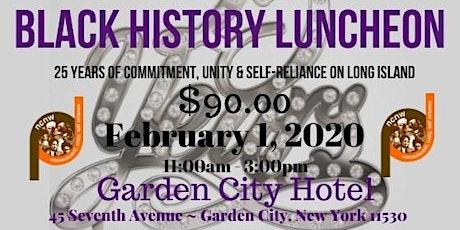 2020  LICC NCNW Black History Luncheon Vendor Registration tickets