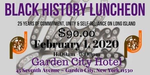 2020  LICC NCNW Black History Luncheon Vendor Registration