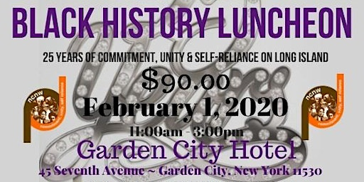 2020  LICC NCNW Black History Luncheon Vendor Registration
