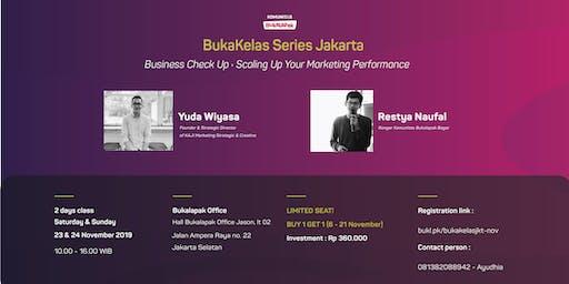 BukaKelas Series: Business Check Up : Scaling Up Your Marketing Performance
