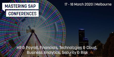 Mastering SAP Conferences 2020 - SPEAKER REGISTRATION tickets
