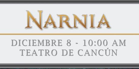 NARNIA FUNCION TALULAHCID CANCUN boletos