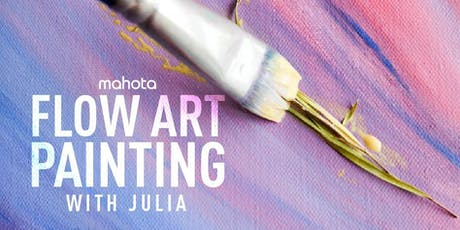 Flow Art Painting with Julia tickets