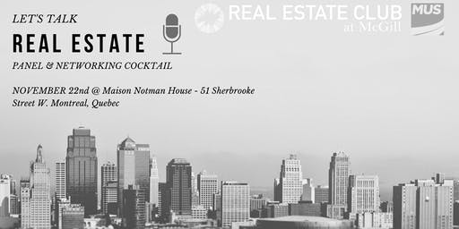 Let's Talk Real Estate