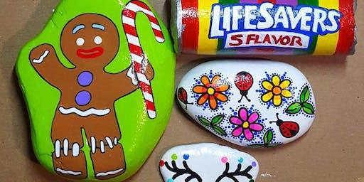 Rock Painting: Summer Holiday Program