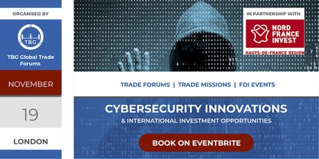 Cybersecurity Innovations & International Investment Opportunities tickets
