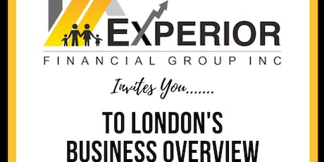 London Experior Financial Group Business Overview tickets