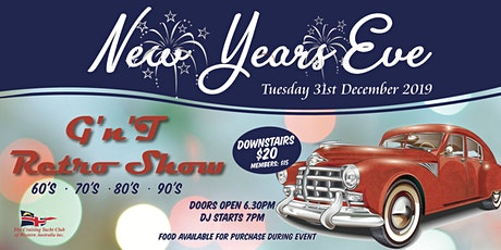 New Years Eve with G'nT Retro Show tickets