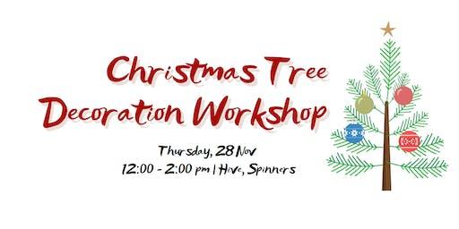 Christmas Tree Decoration Workshop