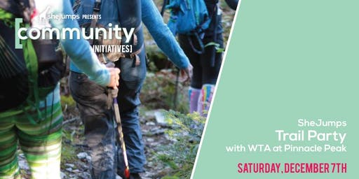 WA SheJumps Trail Party with Washington Trails Association at Pinnacle Peak