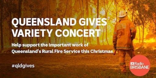 Queensland Gives Variety Concert
