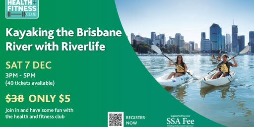 Kayaking the Brisbane River with Riverlife