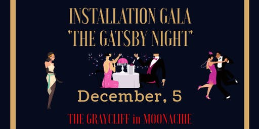 "AREAA NNJ Presents   Installation Gala ""The Gatsby Night"""