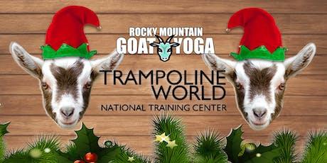 Elf Yoga - December 1st (Trampoline World Gymnastics) tickets