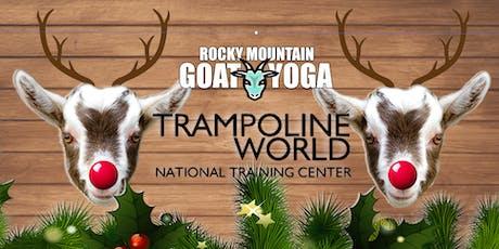 Reindeer Yoga - December 15th (Trampoline World Gymnastics) tickets