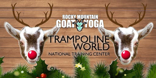 Reindeer Yoga - December 15th (Trampoline World Gymnastics)