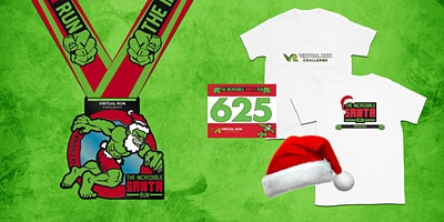2019 - Incredible Santa Virtual 5k Run Walk - Ann Arbor