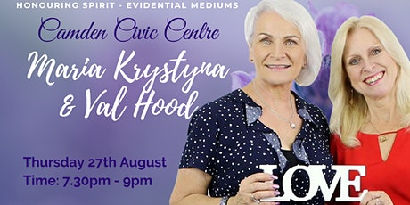An Evening of Evidential Mediumship with Maria and Val - Camden tickets