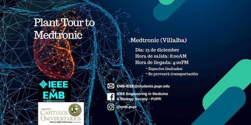 Plant Tour Medtronic Villalba