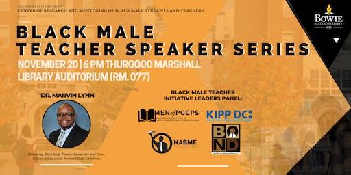 Inaugural Black Male Teacher Speaker Series
