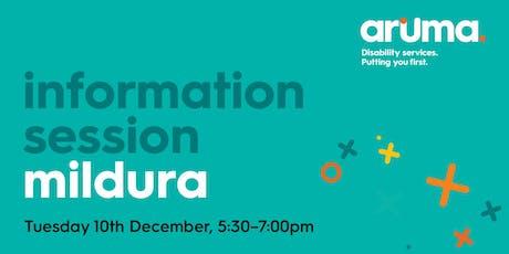 Mildura Information Session tickets