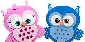 D.I.Y Foam Owls