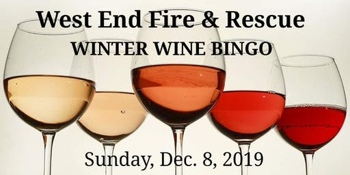 Winter Wine Bingo