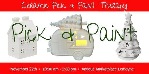 Pick & Paint Lighted Ceramics 11/22 AMP