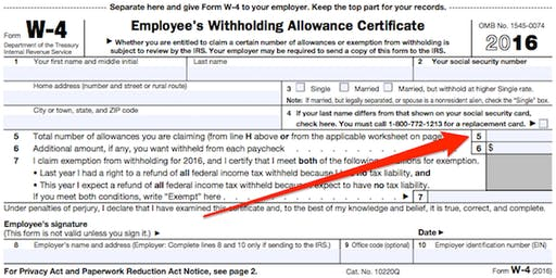 What can you do if you claim 9 allowances on a W-4 and DE-4 form?
