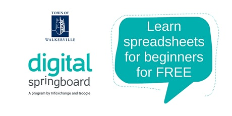 Learn spreadsheets for beginners tickets