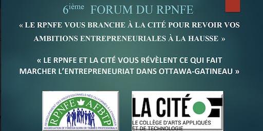 6e/6th Forum RPNFE-AFBTP : Croissance entrepreneuriale des artistes et artisans issus de l'immigration /Cultural entrepreneurial growth of artists & craftsmen from immigrant background-part1