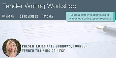 Tender Writing Workshop tickets