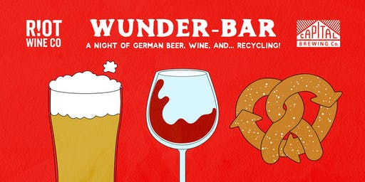 Wunder-Bar: A night of German brews, wine, and... recycling!