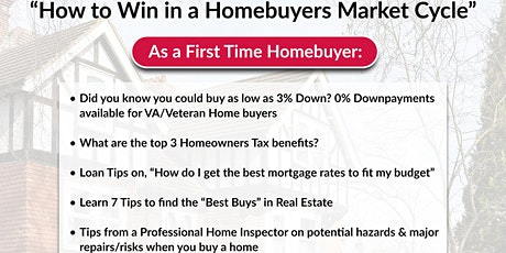 How to Win in a Home buyers Market Cycle tickets