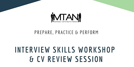 Interview Skills Workshop & CV Review Session tickets