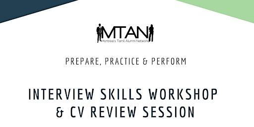 Interview Skills Workshop & CV Review Session