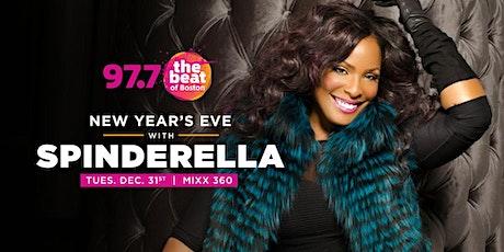 97.7 NYE 2020 starring DJ Legend SPINDERELLA tickets