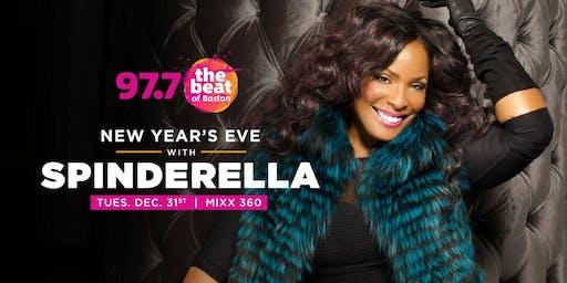 97.7 NYE 2020 starring DJ Legend SPINDERELLA