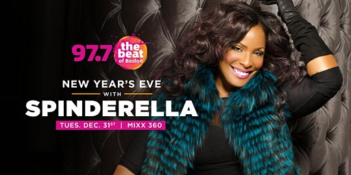 97.7 NYE 2020 starring DJ Legend SPINDERELLA