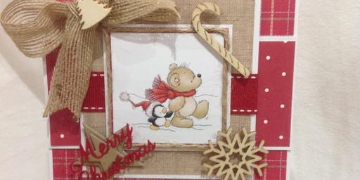 Christmas Cardmaking with Panniescrafts