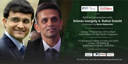 In Conversation with Sourav Ganguly & Rahul Dravid