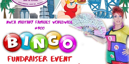NWCA Military Families Worldwide #300 Fundraiser Bingo